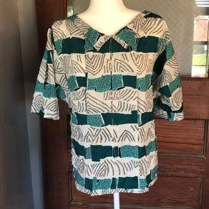 Stunning Vintage Diane Von Furstenburg Shirt